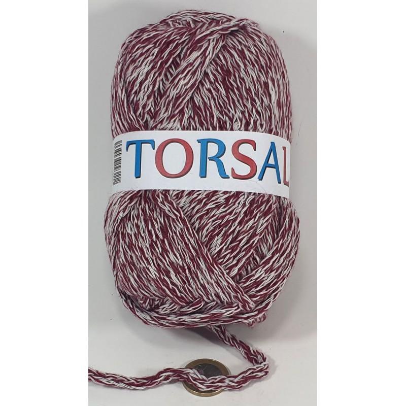 SA2585 TORSAL BLANCO GRANATE