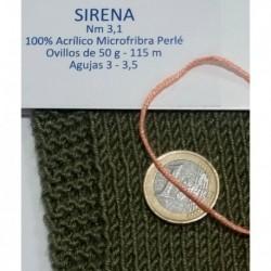 SIRENA 002 HUESO