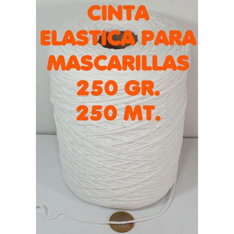 ELASTIC MASCARILLA 250 GR. 01 BLANCO
