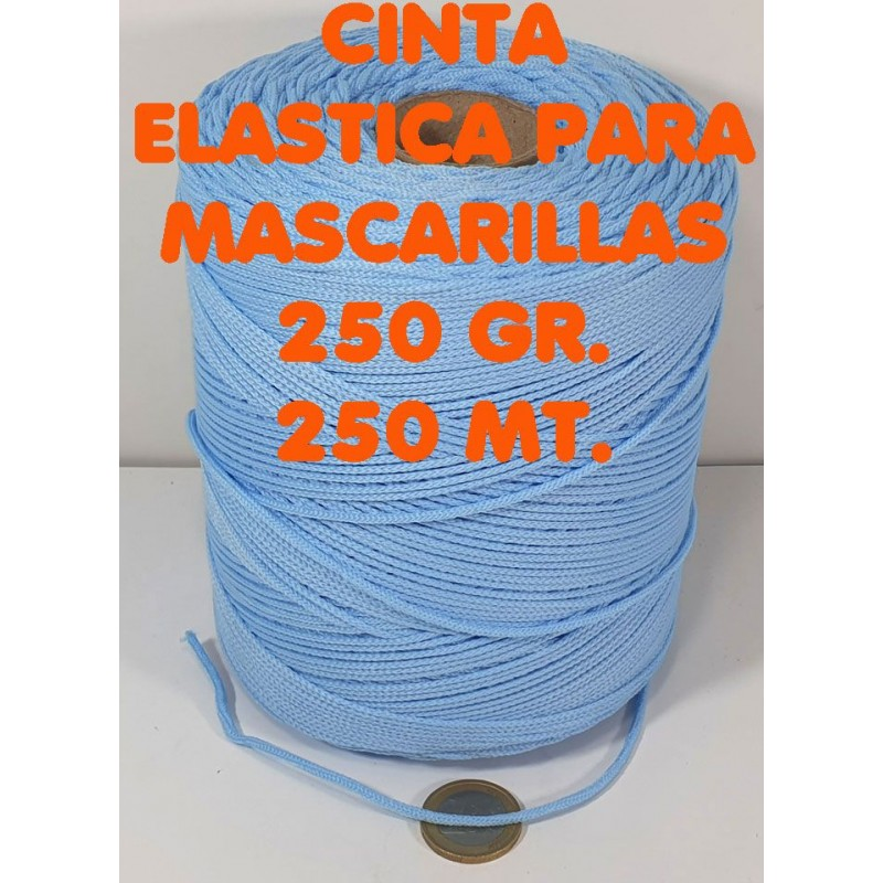 ELASTIC MASCARILLA 250 GR. 03 CELESTE