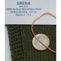 SIRENA 5222 LIGHT GREEN