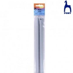 KNITTING NEEDLES 60 Cm RF.37969- 10 Mm