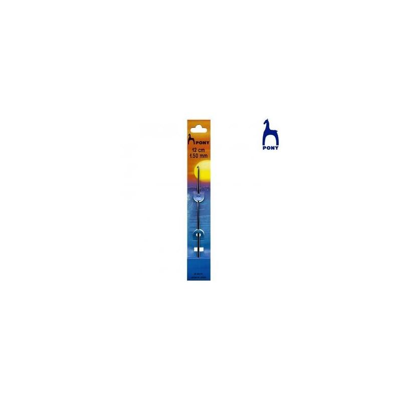 CROCHET EN ACIER 12Cm RF.58672- 1 mm