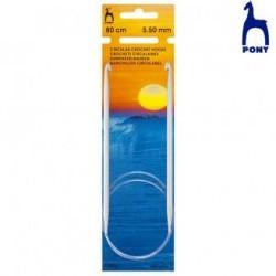 TUNISIEN CIRCULAIRES 80cm.RF46910- 4,5MM