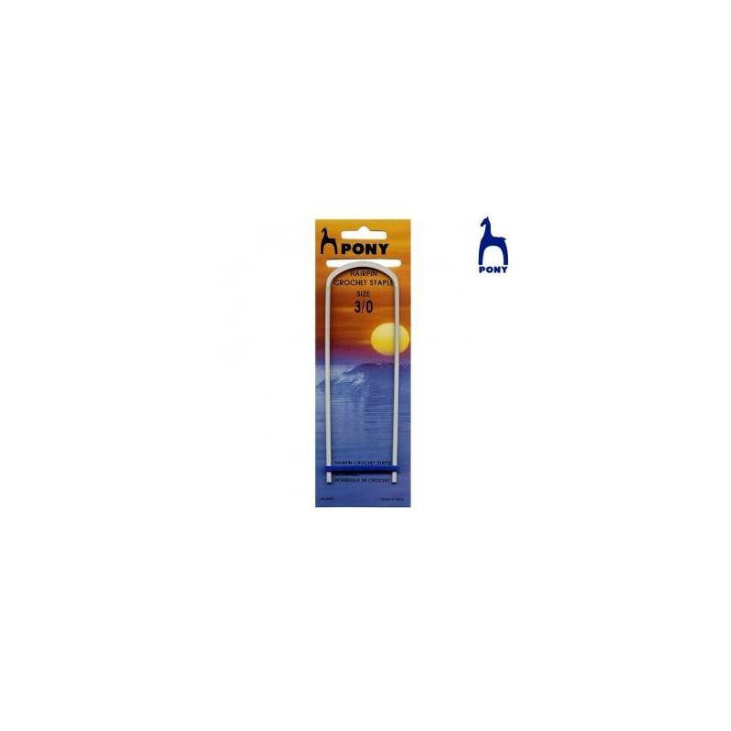 HORQUILLA GANCHILLO RF 60607- 5MM