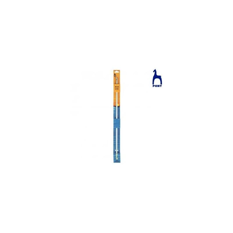 CROCHET TUNISIEN 2 TETES RF43909- 4MM