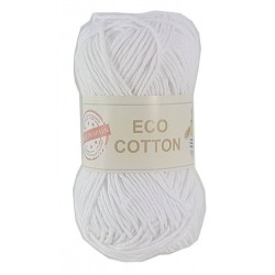 ECO COTTON 010 BLANCO