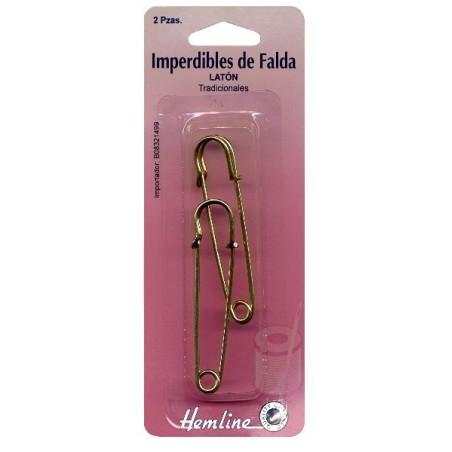 H411 IMPERDIBLE FALDA DORADO