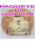 TEX COTTON- 10 BALLS (15,40€)