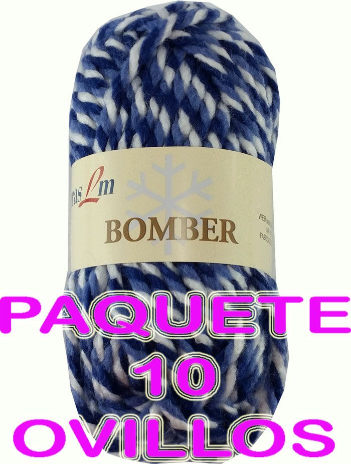 BOMBER 10 PELOTES(10,50€)