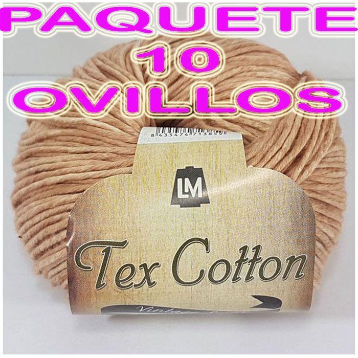 TEX COTTON- 10 PELOTES (15,40€)